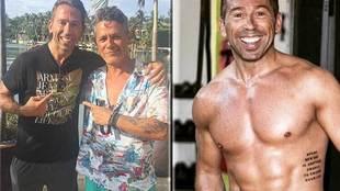 """Raúl Tamudo fue huésped de Alejandro Sanz en Miami: """"Gran cantante y..."""