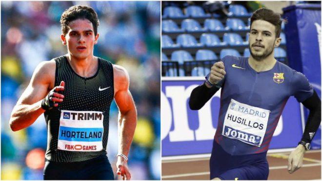 Bruno Hortelano (26) y Óscar Husillos (24).