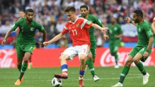 Rusia goleó a Arabia en la inauguración del Mundial con un gran...