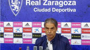 Natxo González, en rueda de prensa.
