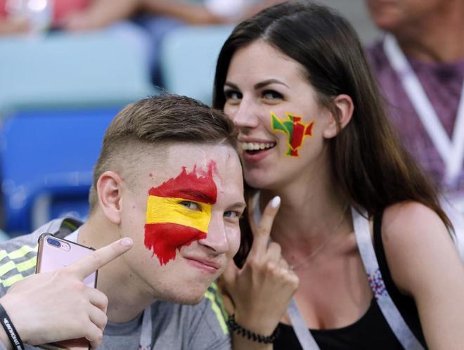 Aficionados de España y Portugal.