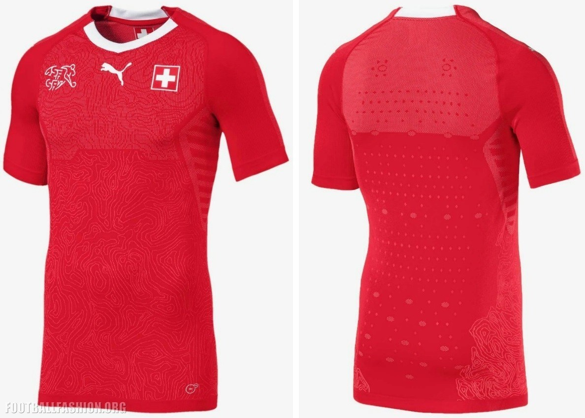 Mundial 2018 Rusia  La camiseta de Suiza se convierte en ... 2517ce340e91c