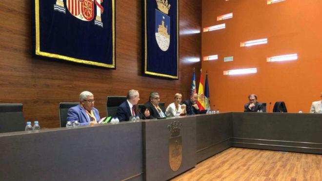 Un momento de la Asamblea de la Federación Española /