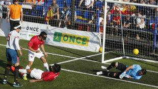 Uno de los goles de España.