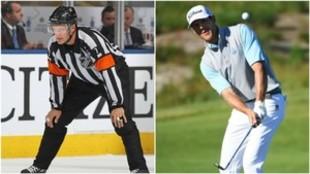 Rank como árbitro de la NHL y hoy en el US Open.