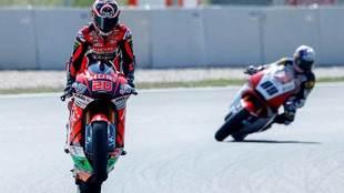 El piloto francés de Moto 2, Fabio Quartararo.
