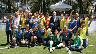 Brasil celebra su quinto título mundial