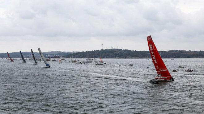 El MAPFRE, en la regata costera de Gotemburgo