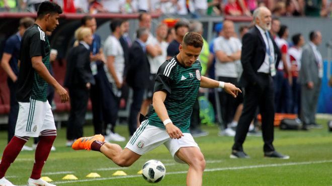 Hernández calienta para el duelo contra Alemania.