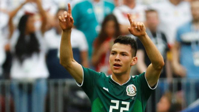 Hirving Lozano marca en su debut Mundialista.