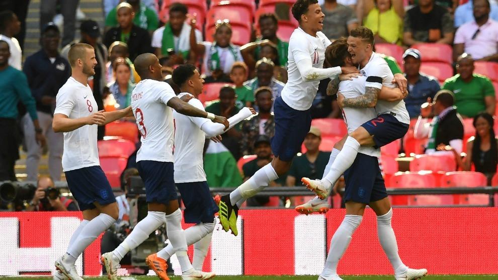 Kane le da la victoria a Inglaterra