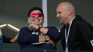 A Maradona le gustó lo hecho por Juan Carlos Osorio