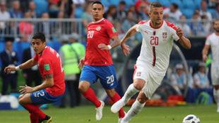 Sergej Milinkovic-Savic brilló en el triunfo de Serbia ante Costa...