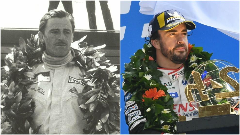 Resultado de imagen de Graham Hill Fernando Alonso Le mans