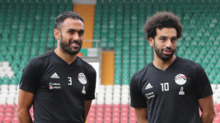 Salah ready to face Russia