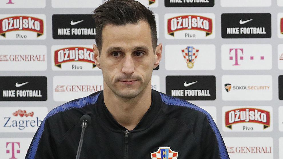 Croatia give reasoning behind sending home striker Kalinic.
