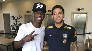 Neymar joining Real would help myself and Rodrygo.