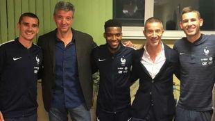 Griezmann, Lemar and Lucas, Atletico's Frenchmen