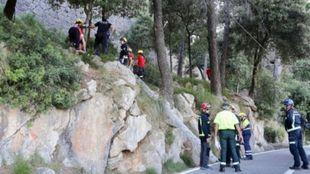 El accidente se ha producido en la Serra de Tramuntana (Mallorca)