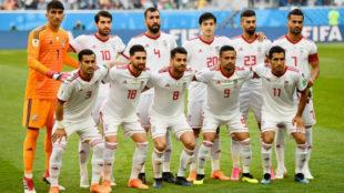 Once de Irán que ganó en la primera jornada a Marruecos.