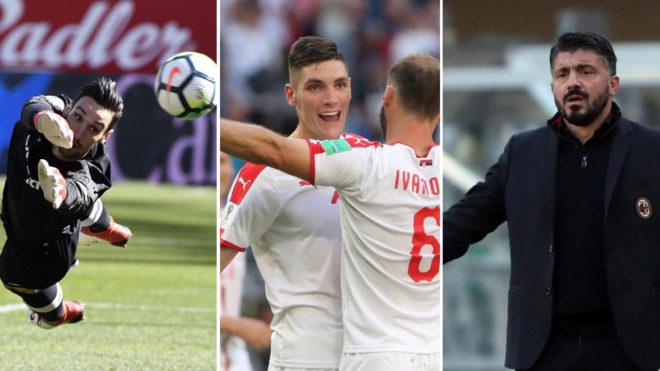 Sergio Rico, Milenkovic y el Milan de Gattuso, protagonistas del...