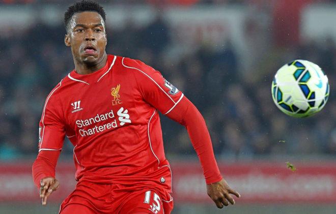 Daniel Sturridge, en un partido con el Liverpool.