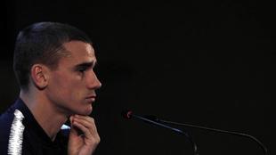 Atletico forward Antoine Griezmann.