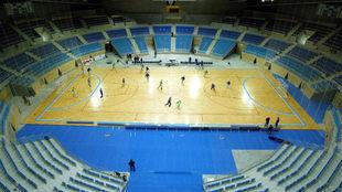 Palacio de los Deportes de Santander, sede propuesta para el Europeo