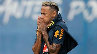 Neymar has another change of look