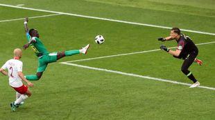 Uno de los goles de Senegal