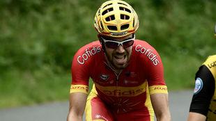 Jesús Herrada ha llevado el maillot de campeón el último año.