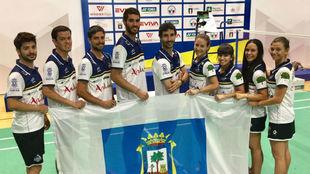Foto de familia del IES La Orden de Huelva.