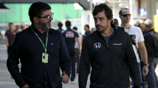 Luis Garcia Abad: When Alonso has to make a decision he will.