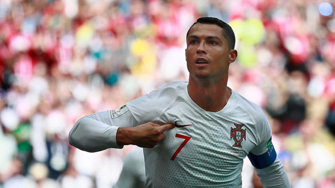 93a95cf7e56 FIFA World Cup 2018  Cristiano Ronaldo becomes most successful ...