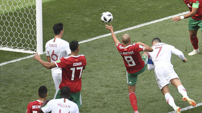 Portugal close to last 16 as Ronaldo earns 1-0 over ousted Morocco