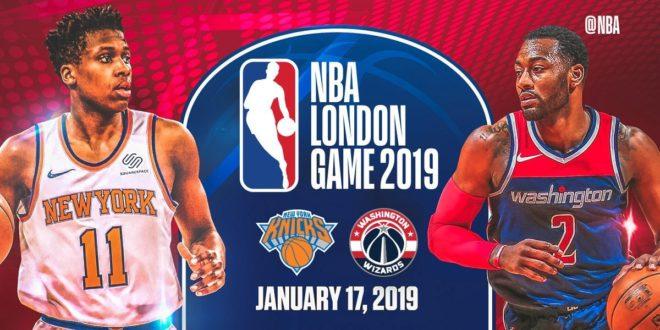 Wizards y Knicks el próximo enero — Menú NBA-Londres