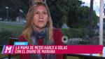 """El mensaje de la mamá de Messi: """"¿Críticas? Si lo vieran llorar por Argentina..."""""""