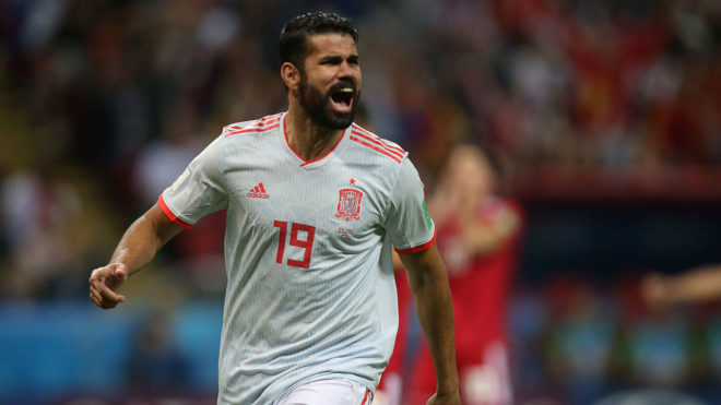 Diego Costa denies provocation but admits to lucky goal against Iran