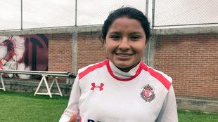 La jugadora del Toluca sueña con ser campeona del mundo.