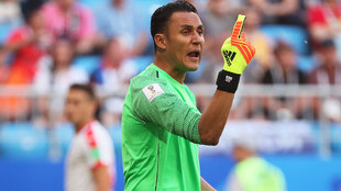 Keylor Navas: I hope to be in Lopetegui's plans