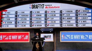 Escenario del Draft 2017 de la NBA.