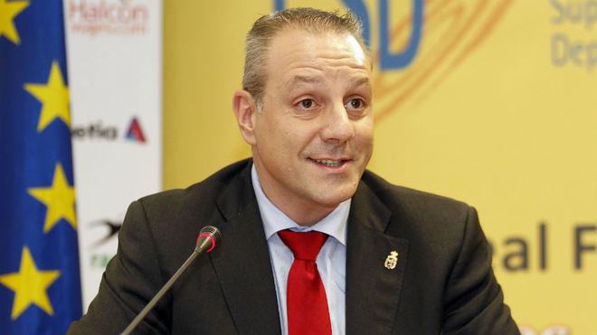 Francisco Blázquez, presidente de la Federación Española de...
