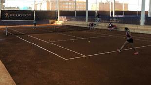 Octavos de final del X ITF Villa de Madrid