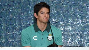 Carlos Orrantia, en conferencia de prensa