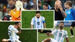 Messi, Caballero, Sampaoli... todos los señalados del desastre argentino
