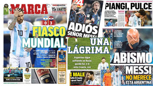 Take a look at the sporting headlines across Europe on Friday.