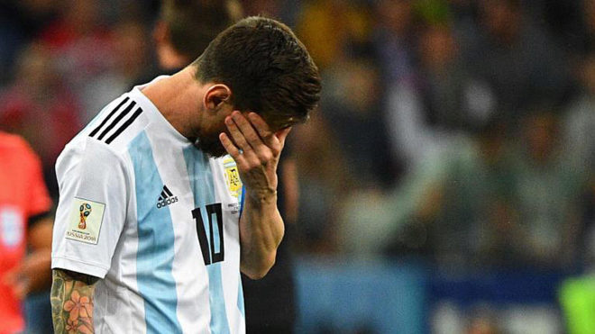 Messi among those responsible for Argentina shocker