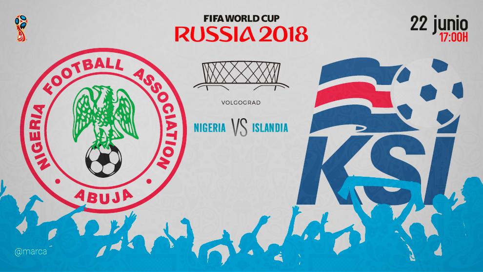 Nigeria le ganó a Islandia y Argentina respira