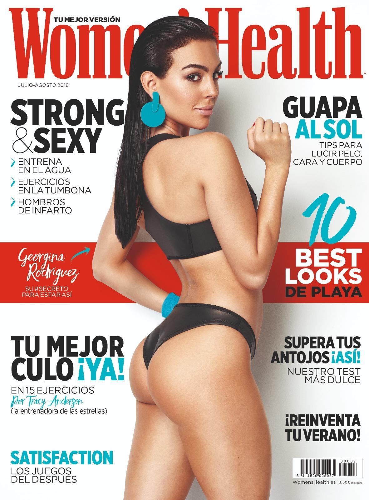 Resultado de imagen para Georgina Rodríguez portada de Women's Health