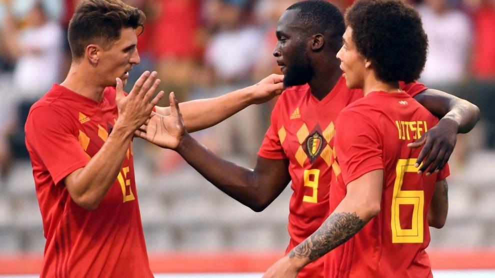 Bélgica le clava cinco a Túnez y califica a octavos de final